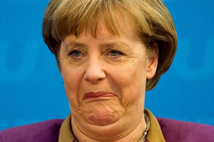 Меркель в образе Гитлера