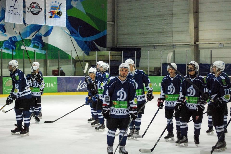 Обзор матчей МХК Динамо в чемпионате Украины по хоккею