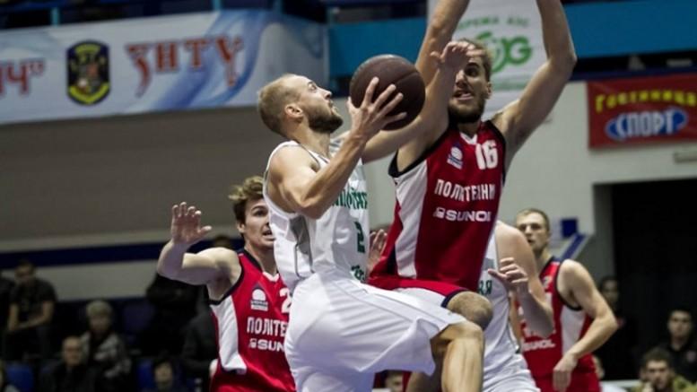 Баскетбол. Политехник побеждает БК Запорожье и прерывает серию поражений
