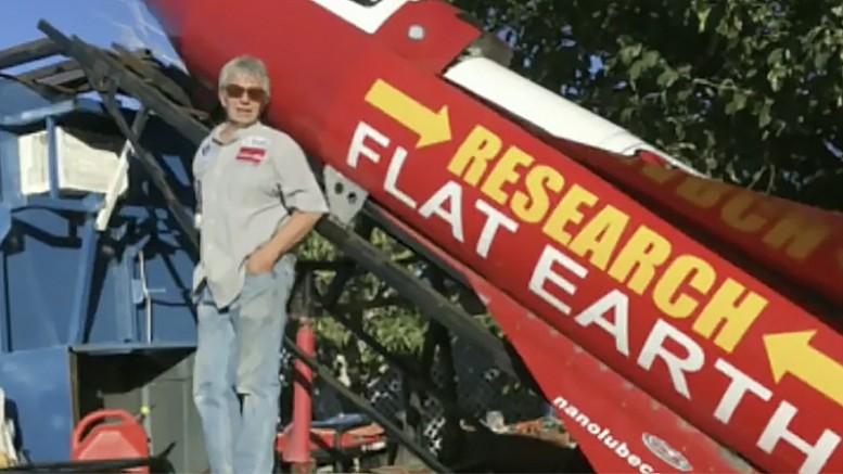 Американец решил лететь в космос на самодельной ракете с целью доказать теорию плоской Земли