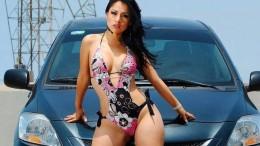Перуанка Аида Мартинес не отличается скромными нарядами в быту