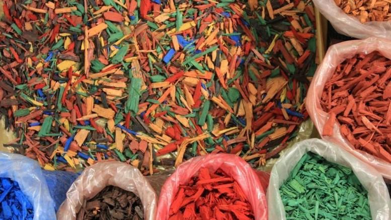 Цветная щепа в Москве и Московской области с доставкой - где купить по выгодной цене
