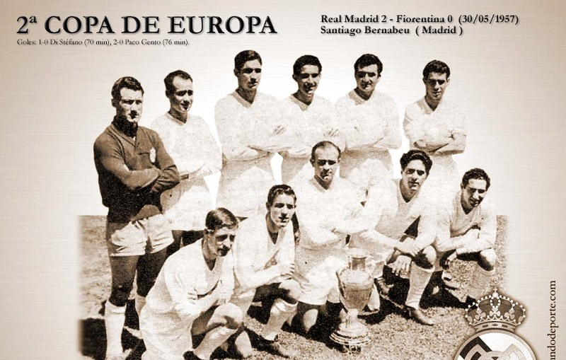 Кубок европейских чемпионов 1956-57. Вторая победа Реала и появление МЮ