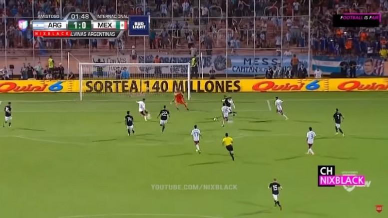 Аргентина - Мексика 2:0 - аргентинцы начинают приходить в себя