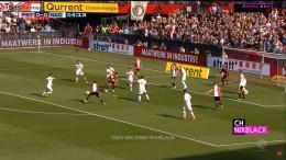 Фейеноорд - Бреда 4:2 - зрелищная встреча чемпионата Нидерландов