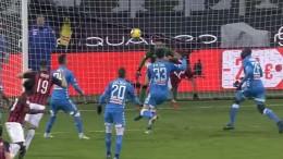 Серия А 21-й тур. Милан и Наполи расходятся без голов
