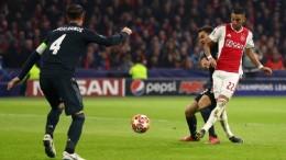 Лига Чемпионов 1/8 финала. Реал вырывает победу у Аякса, Тоттенхэм громит Боруссию
