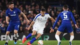 Лига Европа 1/8 финала. Динамо разгромлено Челси в Лондоне