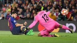 Лига Чемпионов 1/2 финала. Барселона одной ногой в финале