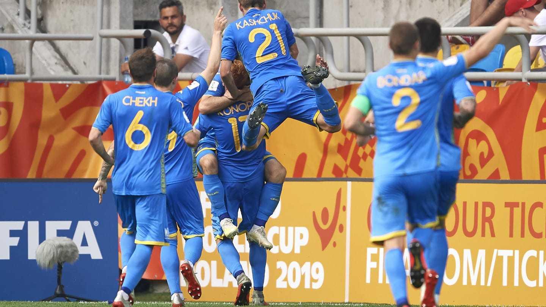 Украина U-20 вышла в финал чемпионата Мира
