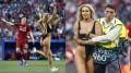 Кинси Волански - горячая блондинка, которая засветила зад на финале ЛЧ (22 фото)
