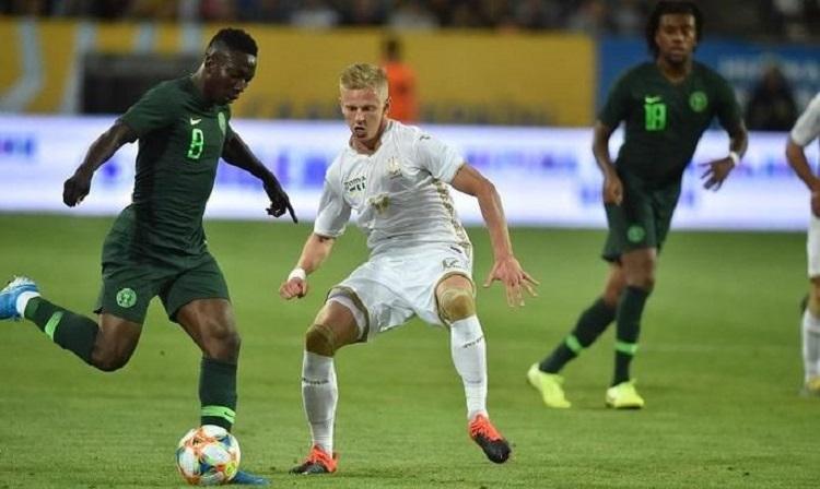 Украина отыгралась в матче с Нигерией после 0:2