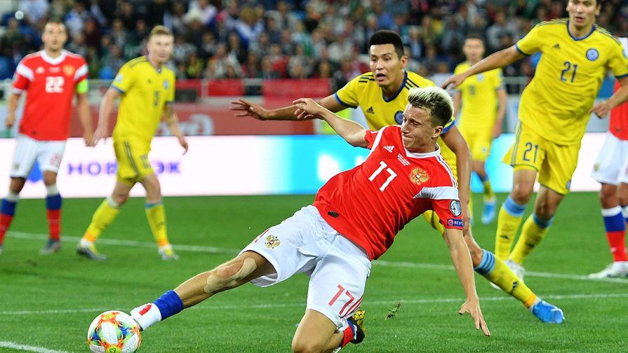 Отбор Евро 2020. Россия минимально победила Казахстан