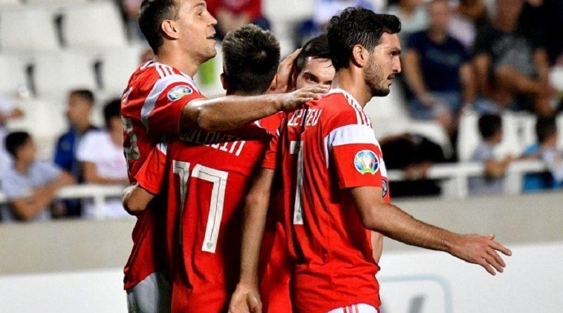 Отбор к Евро 2020. Россия разгромила Кипр и вышла в финальную часть