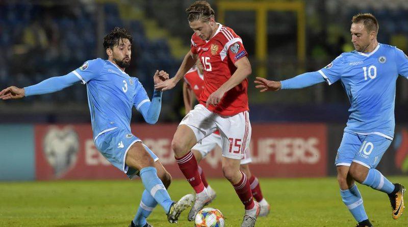 Отбор к ЕВРО 2020. Россия разгромила Сан-Марино