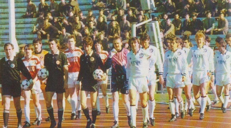 Спартак - Динамо (Киев, СССР) 1:3, Чемпионат СССР - 1990 год