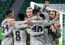 Лига Европы 1/8 финала. Шахтер победил Вольфсбург в Германии