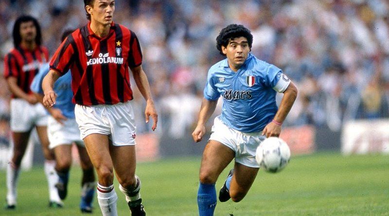 Наполи - Милан 1:1 - обзор встречи 1990 года