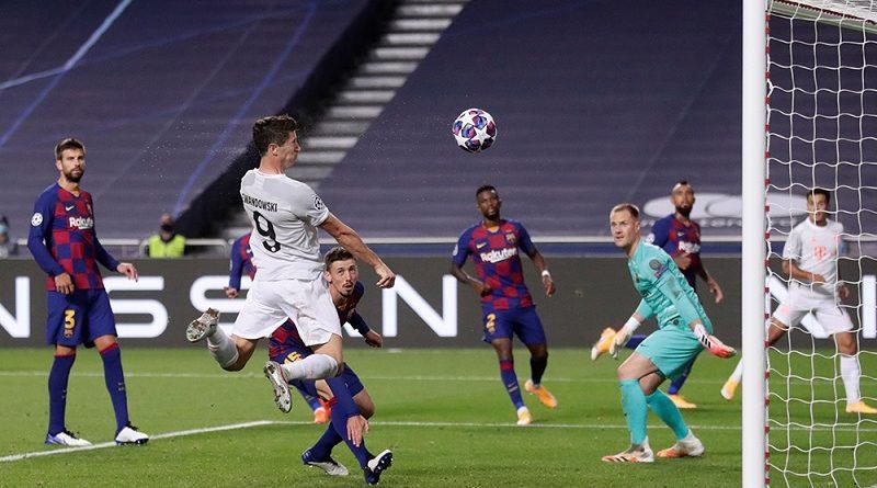 Лига Чемпионов. Бавария уничтожила Барселону