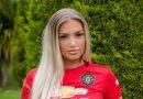 Болельщица Ман Юнайтед Люси Николсон массово публикует пикантный контент (31 фото)