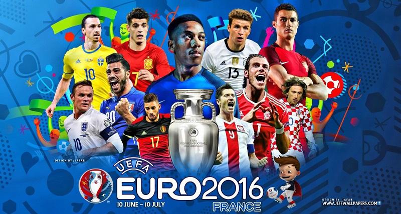 Все голы и результаты Евро 2016