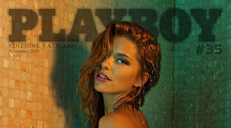 Playboy Италия ноябрь 2020 - Анита Тот появилась в мокром виде (47 фото)
