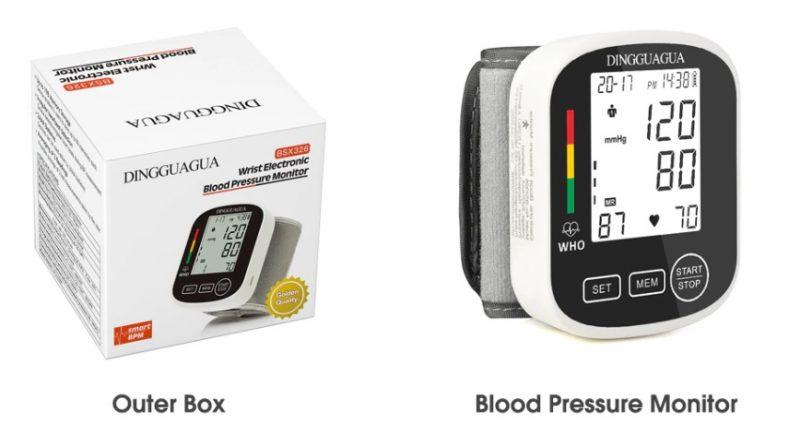 Автоматические измеритель артериального давления на Алиэкспресс