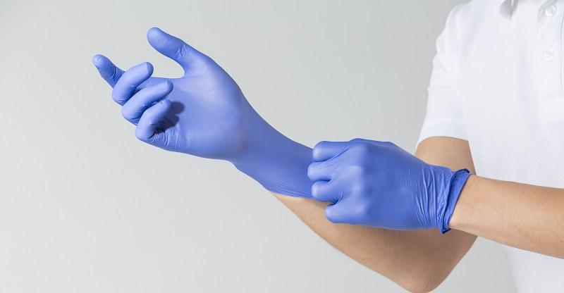 Одноразовые нитриловые перчатки востребованы на Алиэкспресс