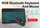 Беспроводная мини-клавиатура и мышь в числе хитов Алиэкспресс