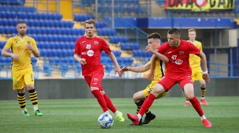 Первая лига Украины по футболу 2020 2021 результаты 24-го тура