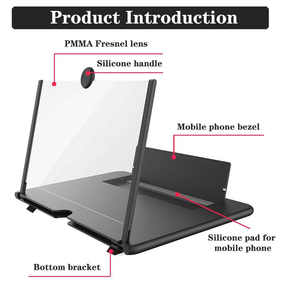 Где купить увеличитель экрана для смартфона и телефона 3d