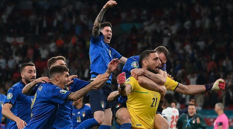 Евро 2020 - Италия победила Англию в финале